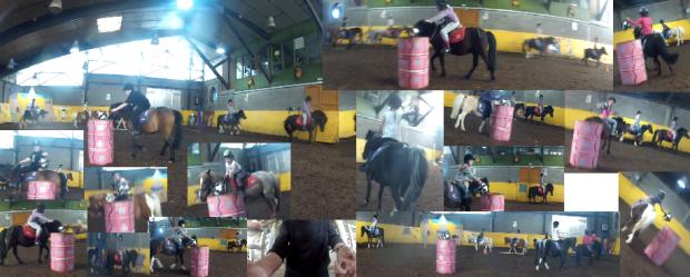 Marie et les copines a chevals