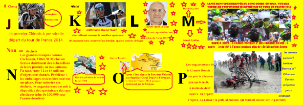 le tour de France 2014 par luvibien.2