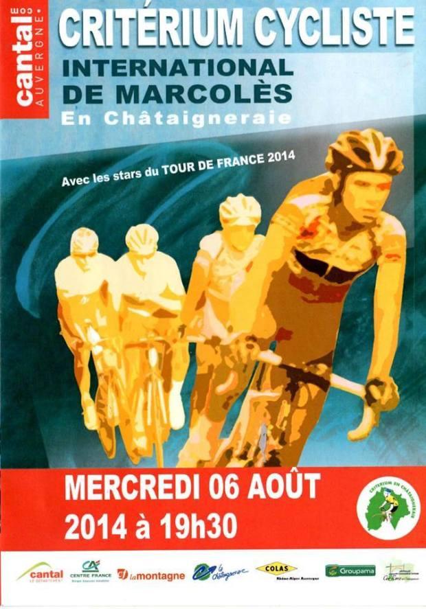 critérium 2014 Marcoles