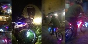 Chaudes-Aigues la nuit