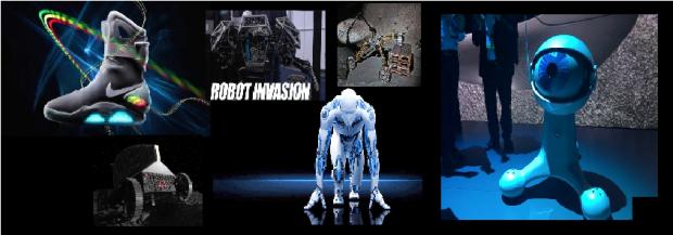 les robots invention