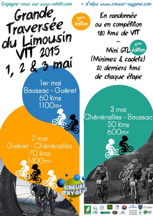 Grande Traversée du Limousin VTT 2015