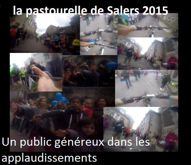 Un public généreux dans les applaudissements ala pastourelle de Salers 2015