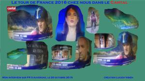 Mon interview sur FR 3 Auvergne