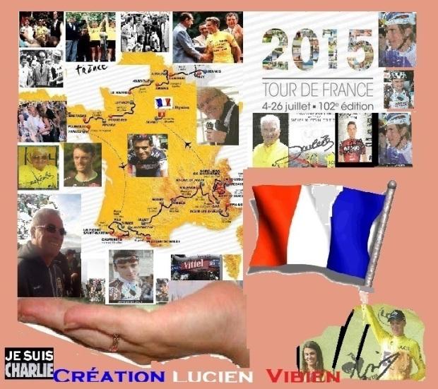 le tour de France 2015 avec les ansiens