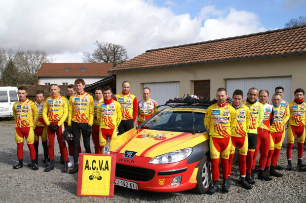 Photo du club de l'ACVA aurillac 2015